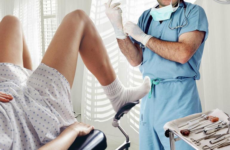 Осмотр гинеколога фото — 10