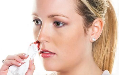 Укрепить сосуды в носу