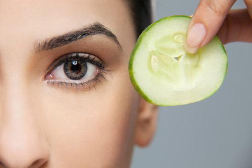 Огурец для лечения глаз