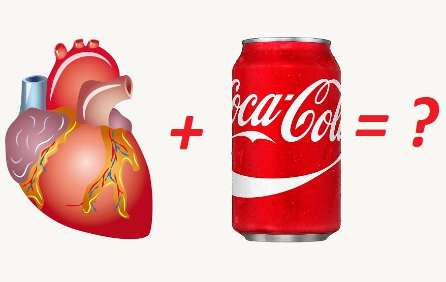 влияние кока колы на сердце и сосуды