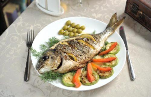 рыба от шеф повара