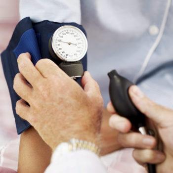 Диагностика пониженного давления