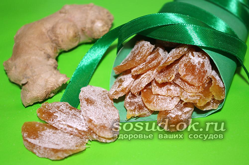 цукаты из имбиря