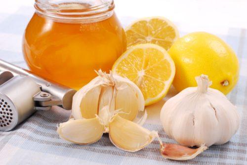 лимон чеснок и мед