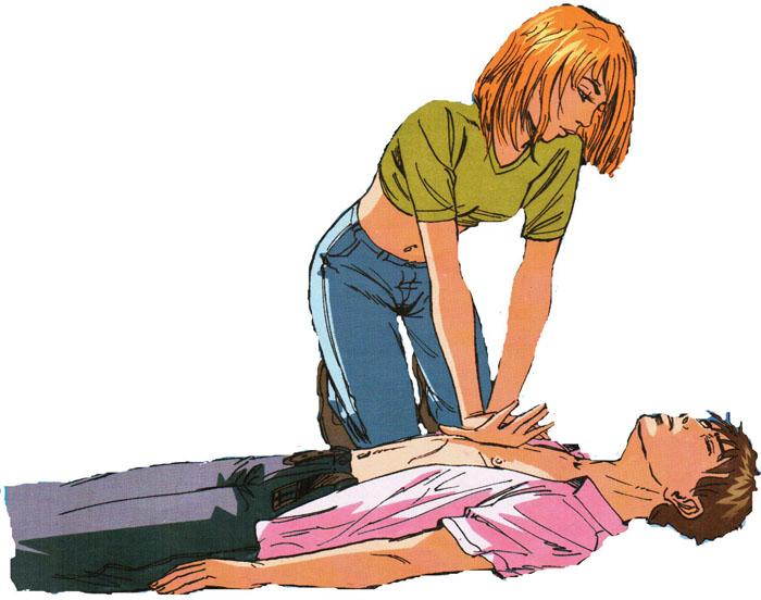 Искусственное дыхание и непрямой массаж сердца