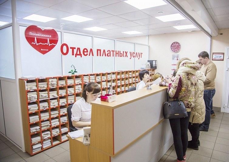 отдел платных услух в поликлинике