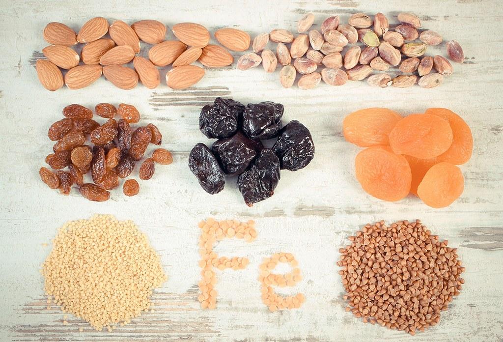 вегетарианские продукты для повышения гемоглобина