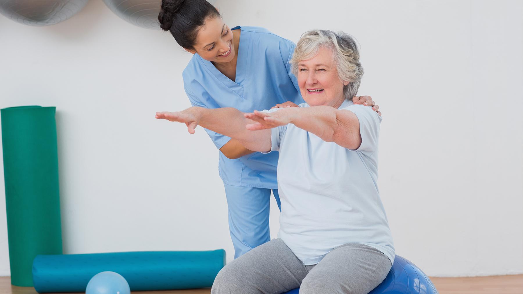 Комплекс гимнастических лечебных упражнений