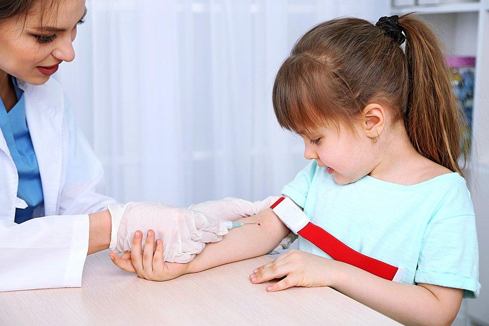 анализ крови ребенка