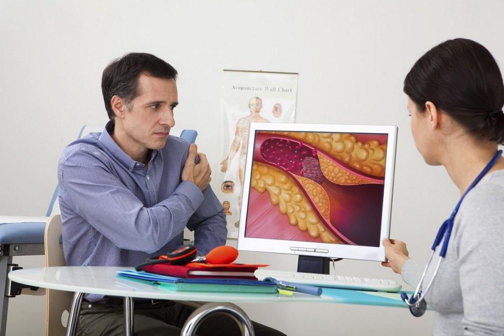Пациент у кардиолога