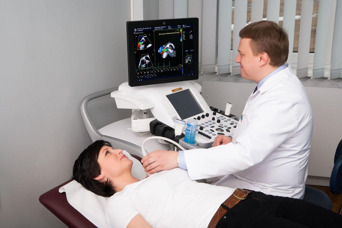 допплерэхокардиография сердца