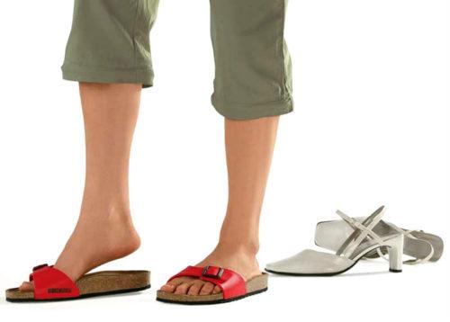 Носить ортопедическую обувь