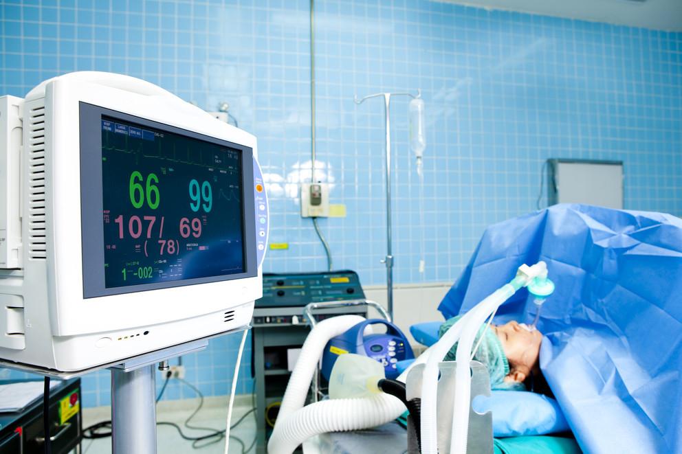Пациент на ИВЛ