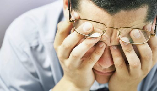 ухудшается зрение