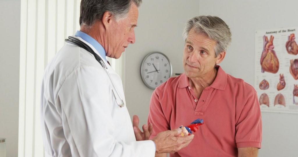 кардиолог и больной